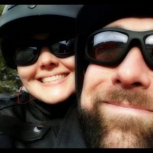 Chris and I Bike